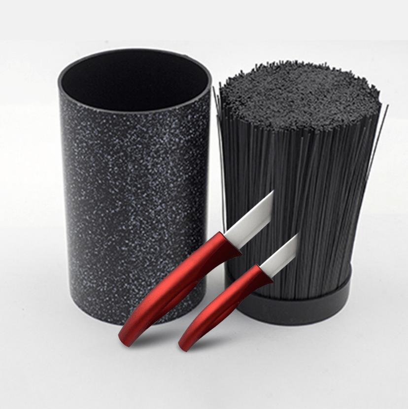Multifunctional Plastic Knife Block Stand