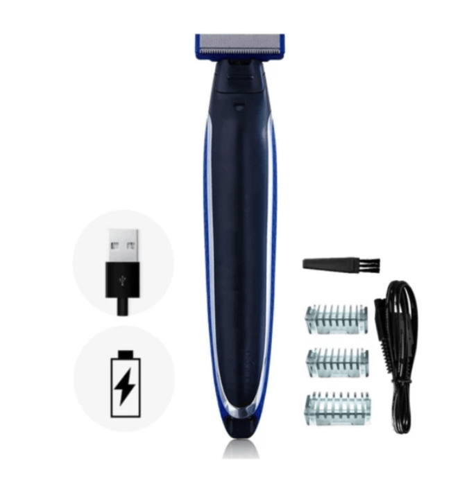 RECHARGEABLE 3 IN 1 TRIM SHAVER