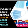 disposable face mask amazon, target, walmart scam alert price