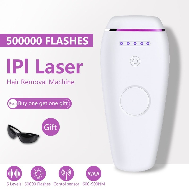 Flashes Laser Hair Removal Trimmer For Women