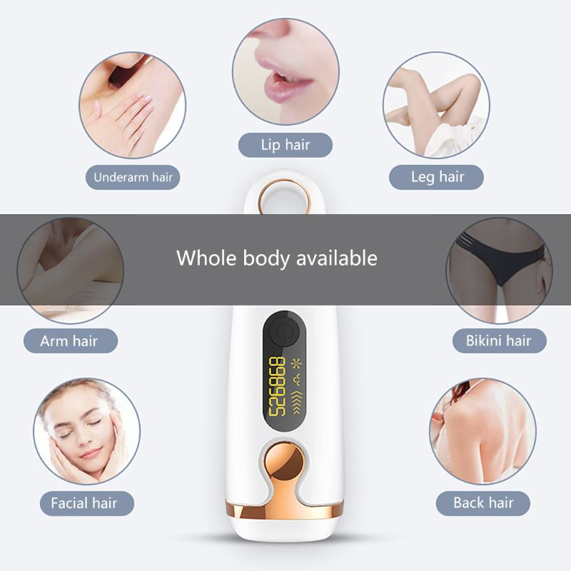 500000 flash professional laser hair removal
