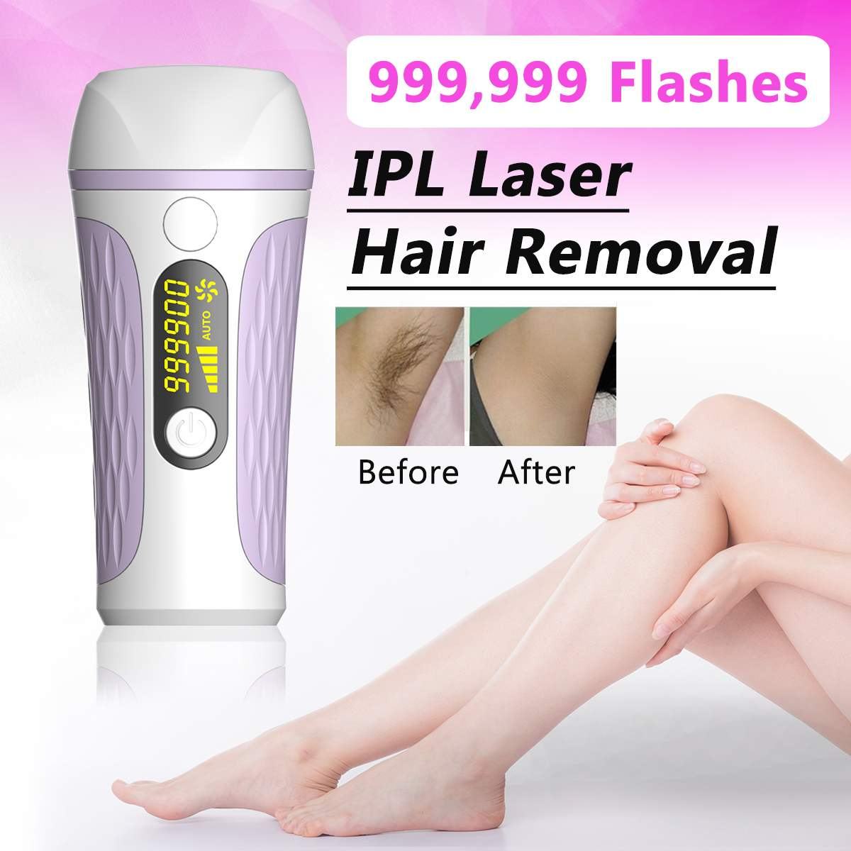 36W Professional IPL Epilator Laser Hair Removal