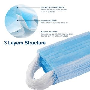 3 ply face mask specification