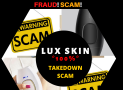 Lux Skin IPL  – I was Scammed and Disappointed