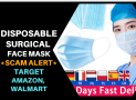 Disposable Face Mask Target – 100% SCAM –  Don't BUY