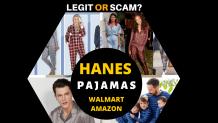 Hanes pajamas Walmart – 99.9% FAKE *SPOILER ALERT*