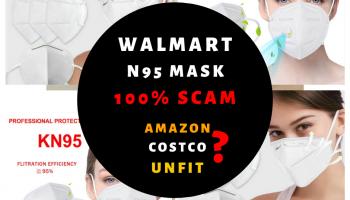 Amazon & Walmart n95 Masks – 100% Worth Buying??